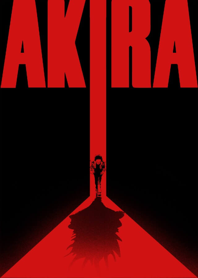 Iconic Movie Poster Remakes: Akira (1988) Poster by Petter Schölander, Sweden