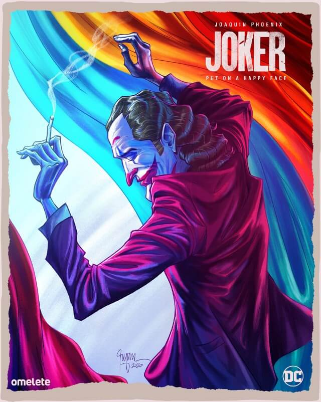 Iconic Movie Poster Remakes: Joker (2019) Movie Poster by Ryan Smallman