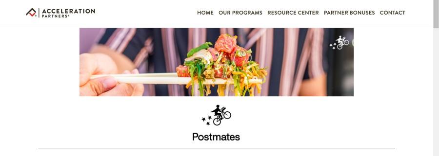 Postmates Affiliate Program on 25 Best Gig Economy App Affiliate Programs for 2021 by Huntlancer