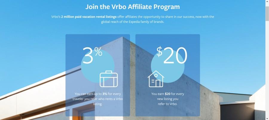 Vrbo Affiliate Program on 25 Best Gig Economy App Affiliate Programs for 2021 by Huntlancer