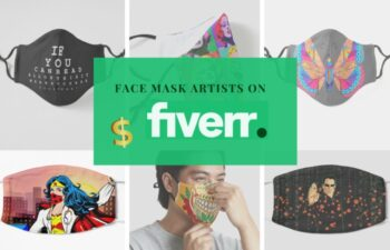 We paid artists on Fiverr to create face mask designs
