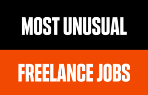 Most Unusual Freelance Jobs Some People do for a Living today