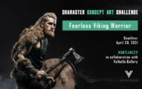 Character Concept Art Challenge: The Fearless Viking Warrior