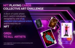 NFT Playing Cards Collective Art Challenge by Huntlancer