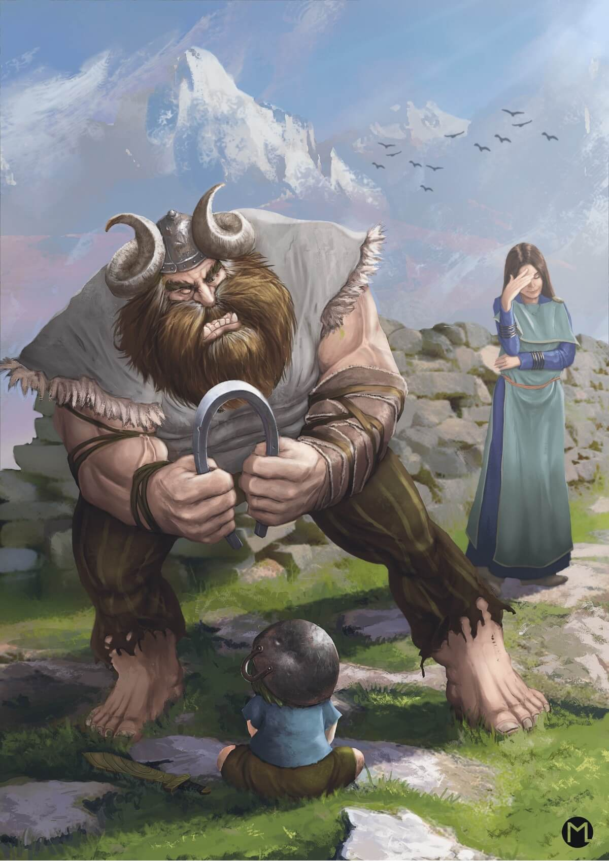 'What does it mean to be a Viking?' by Maxim Lingert, Germany   Viking Warrior Challenge by Huntlancer