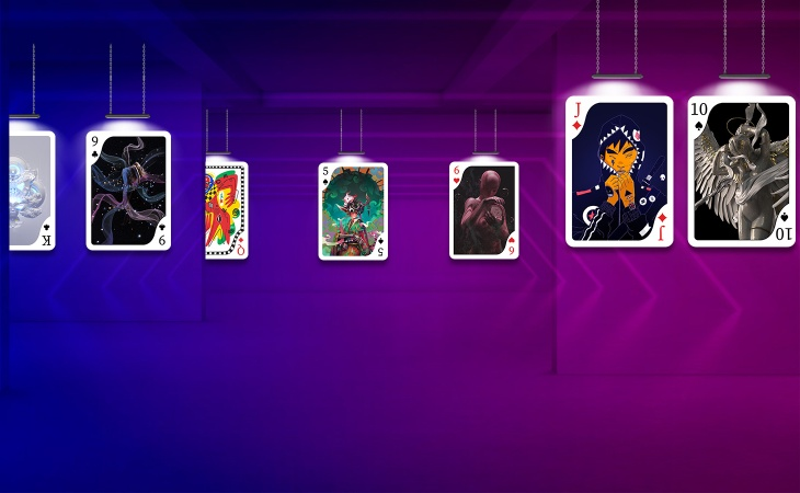 NFT Playing Card Project by Huntlancer